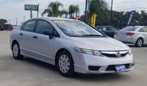 2011 Honda Civic for sale at Budget Motors in Aransas Pass TX