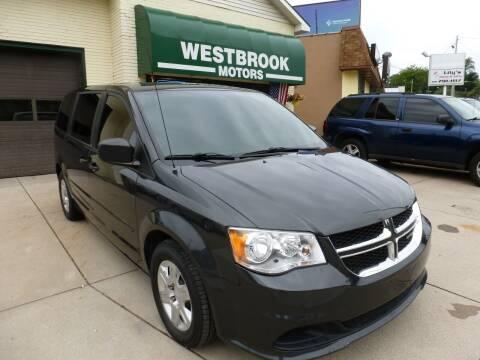 2012 Dodge Grand Caravan for sale at Westbrook Motors in Grand Rapids MI