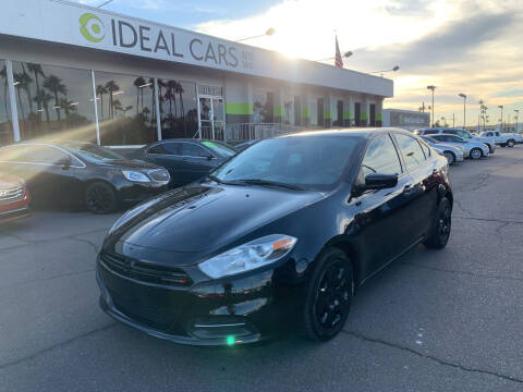 2015 Dodge Dart for sale at Ideal Cars in Mesa AZ