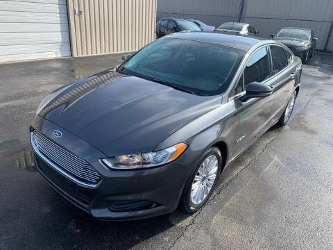 2016 Ford Fusion Hybrid for sale at Driving Xcellence in Jeffersonville IN