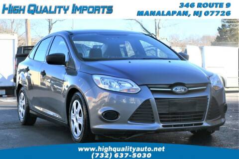 2014 Ford Focus for sale at High Quality Imports in Manalapan NJ