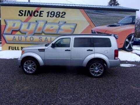 2011 Dodge Nitro for sale at Pyles Auto Sales in Kittanning PA