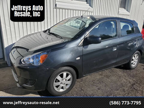 2014 Mitsubishi Mirage for sale at Jeffreys Auto Resale, Inc in Clinton Township MI