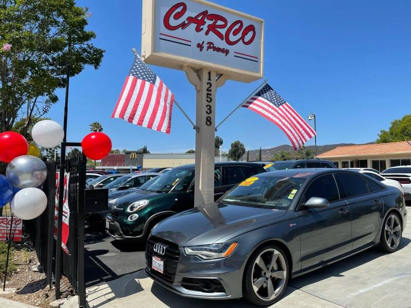 2015 Audi A6 for sale at CARCO SALES & FINANCE - CARCO OF POWAY in Poway CA