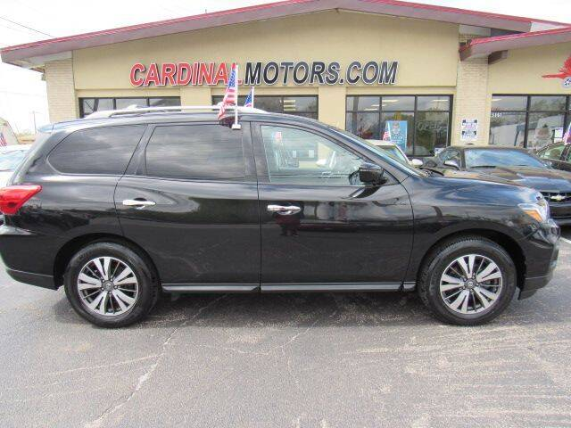 2017 Nissan Pathfinder for sale at Cardinal Motors in Fairfield OH