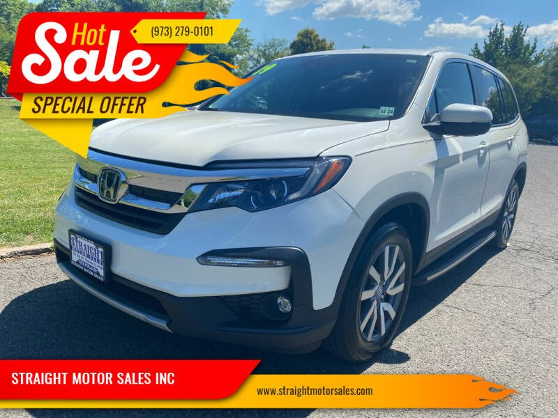 2019 Honda Pilot for sale at STRAIGHT MOTOR SALES INC in Paterson NJ