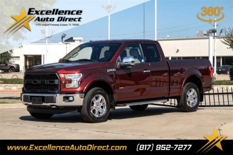 2016 Ford F-150 for sale at Excellence Auto Direct in Euless TX