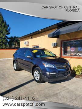 2017 Chevrolet Traverse for sale at Car Spot Of Central Florida in Melbourne FL