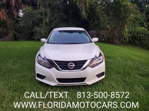 2016 Nissan Altima for sale at Florida Motocars in Tampa FL