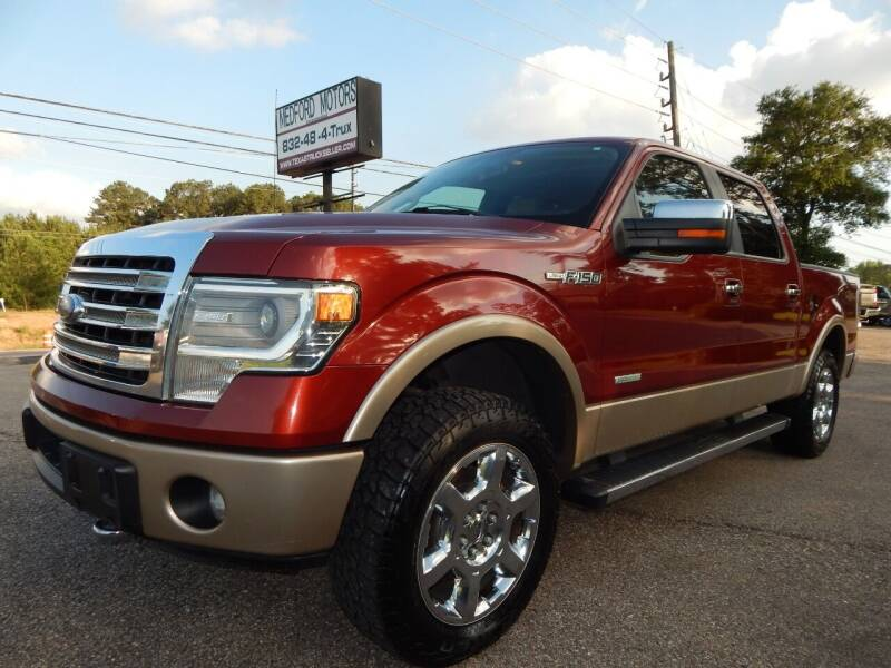 2014 Ford F-150 for sale at Medford Motors Inc. in Magnolia TX