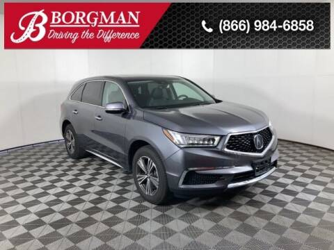 2018 Acura MDX for sale at BORGMAN OF HOLLAND LLC in Holland MI