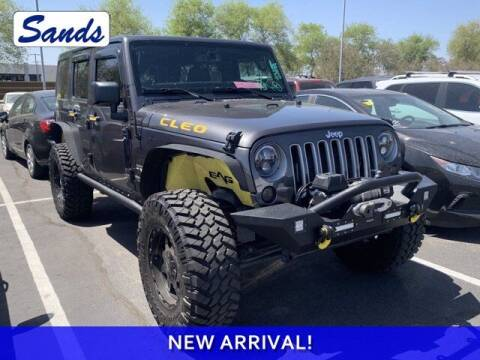 2016 Jeep Wrangler Unlimited for sale at Sands Chevrolet in Surprise AZ