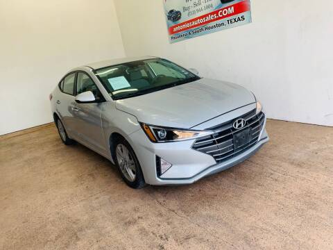 2019 Hyundai Elantra for sale at Antonio's Auto Sales - Antonio`s  3001 in Pasadena TX