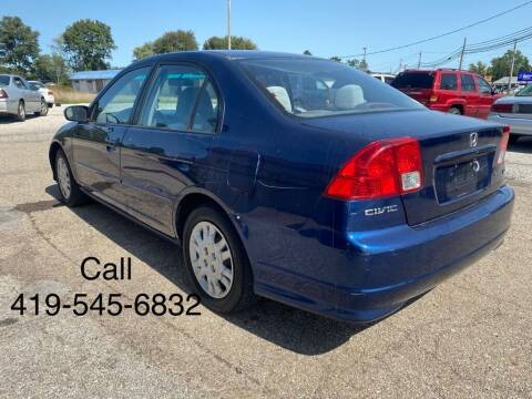 2004 Honda Civic for sale at KRIS RADIO QUALITY KARS INC in Mansfield OH