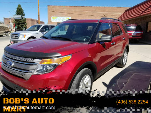 2015 Ford Explorer for sale at BOB'S AUTO MART in Lewistown MT
