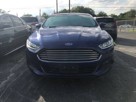 2014 Ford Fusion Hybrid for sale at K-M-P Auto Group in San Antonio TX