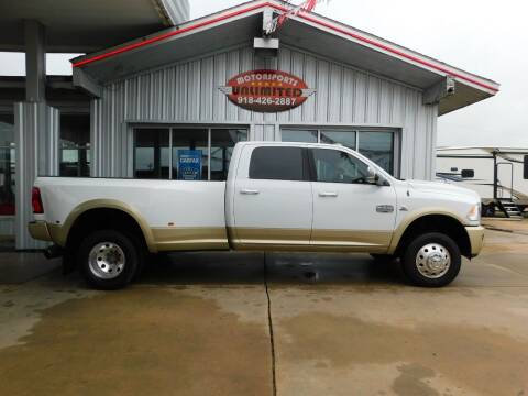 2012 RAM Ram Pickup 3500 for sale at Motorsports Unlimited in McAlester OK