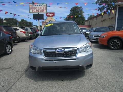 2014 Subaru Forester for sale at Daniel Auto Sales in Yonkers NY