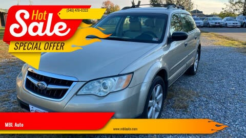2008 Subaru Outback for sale at MBL Auto in Fredericksburg VA