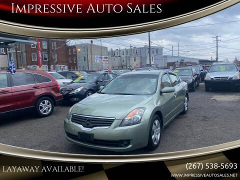 2007 Nissan Altima for sale at Impressive Auto Sales in Philadelphia PA