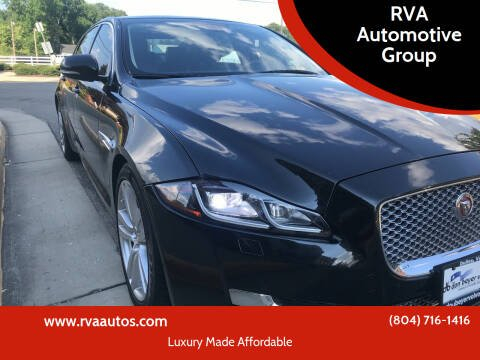 2016 Jaguar XJL for sale at RVA Automotive Group in North Chesterfield VA
