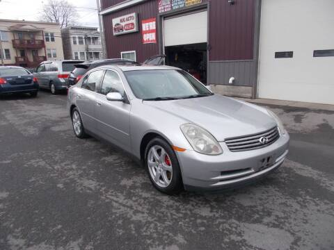 2003 Infiniti G35 for sale at Mig Auto Sales Inc in Albany NY