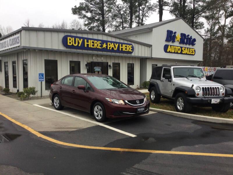 2015 Honda Civic for sale at Bi Rite Auto Sales in Seaford DE