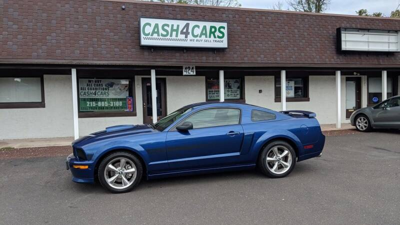 2007 Ford Mustang for sale at Cash 4 Cars in Penndel PA