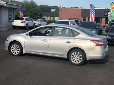 2015 Nissan Sentra for sale at QUALITY AUTO SALES OF NEW YORK in Medford NY