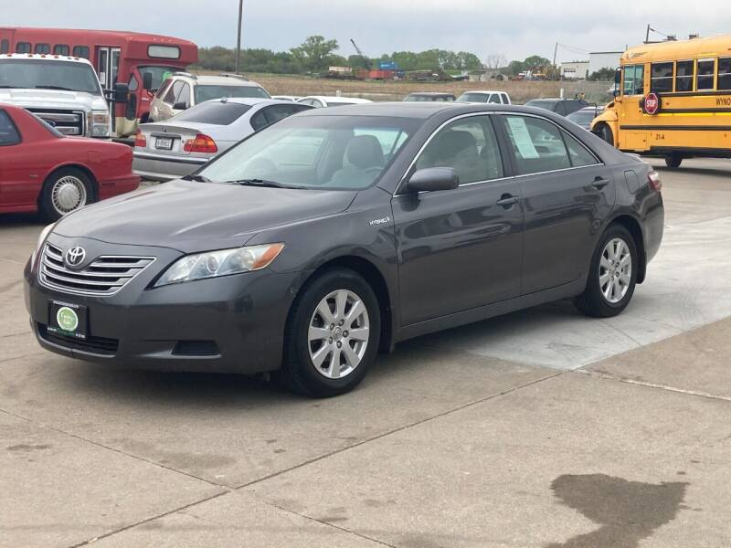 2007 Toyota Camry Hybrid for sale at Casey's Auto Detailing & Sales in Lincoln NE