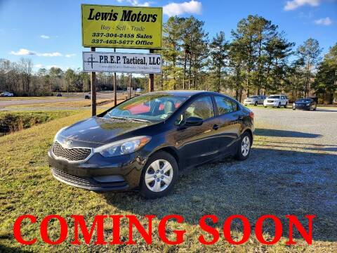 2015 Kia Forte for sale at Lewis Motors LLC in Deridder LA