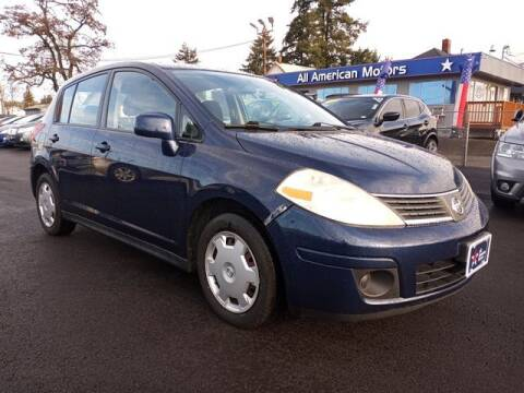 2007 Nissan Versa for sale at All American Motors in Tacoma WA