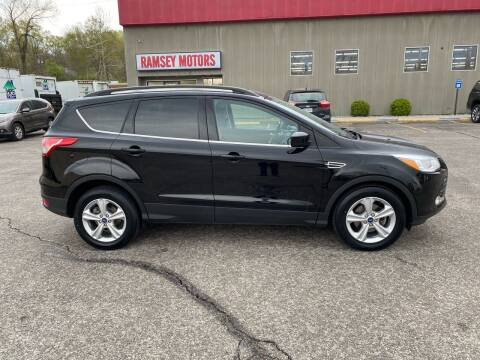 2016 Ford Escape for sale at Ramsey Motors in Riverside MO