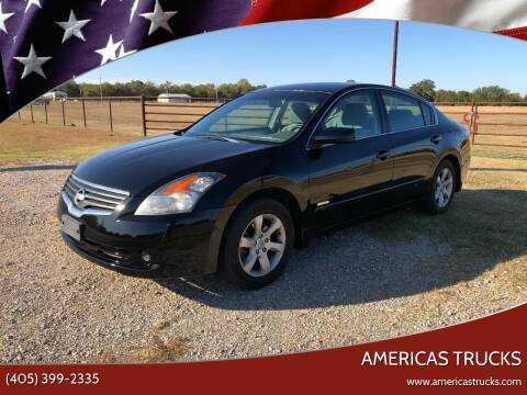 2007 Nissan Altima Hybrid for sale at Americas Trucks in Jones OK