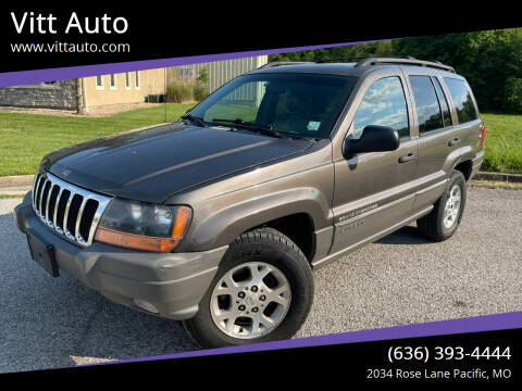 2000 Jeep Grand Cherokee for sale at Vitt Auto in Pacific MO