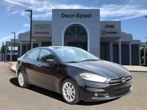 2015 Dodge Dart for sale at DEUR-SPEET MOTORS in Fremont MI