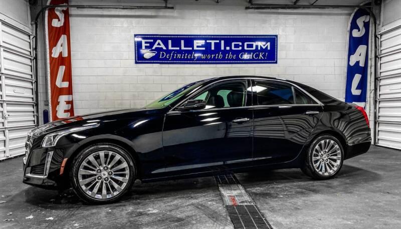 2014 Cadillac CTS for sale at Falleti Motors, Inc.  est. 1976 in Batavia NY