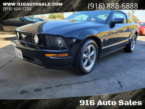 2006 Ford Mustang for sale at 916 Auto Sales in Sacramento CA