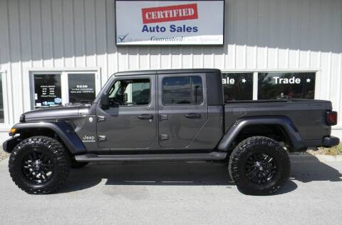 2020 Jeep Gladiator for sale at Certified Auto Sales in Des Moines IA