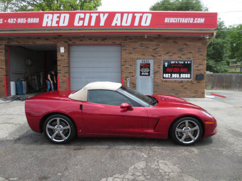 2008 Chevrolet Corvette for sale at Red City  Auto in Omaha NE