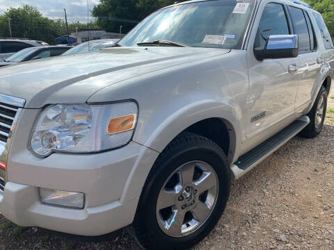 2006 Ford Explorer for sale at BULLSEYE MOTORS INC in New Braunfels TX