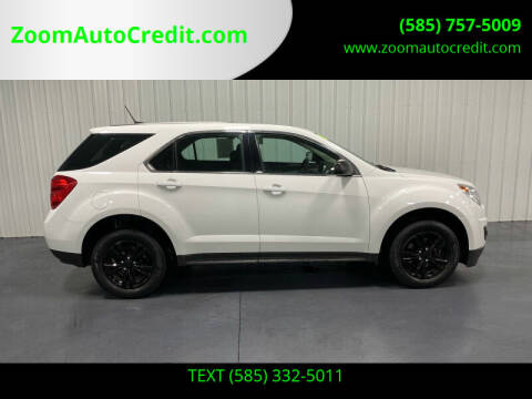 2013 Chevrolet Equinox for sale at ZoomAutoCredit.com in Elba NY