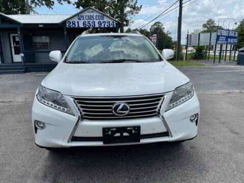 2015 Lexus RX 350 for sale at QUALITY PREOWNED AUTO in Houston TX