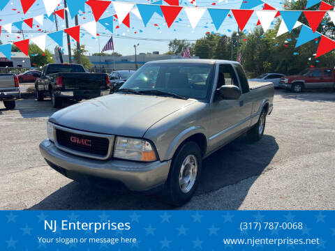 2001 GMC Sonoma for sale at NJ Enterprises in Indianapolis IN