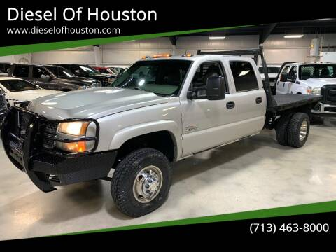 2005 Chevrolet Silverado 3500 for sale at Diesel Of Houston in Houston TX