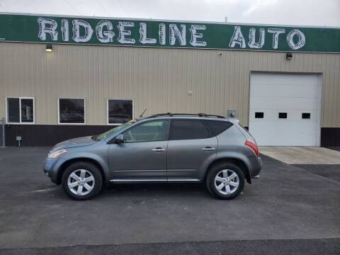 2007 Nissan Murano for sale at RIDGELINE AUTO in Chubbuck ID