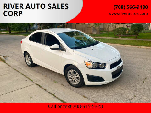 2014 Chevrolet Sonic for sale at RIVER AUTO SALES CORP in Maywood IL
