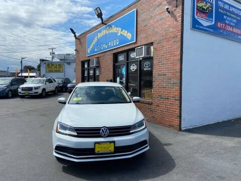 2017 Volkswagen Jetta for sale at Everett Auto Gallery in Everett MA