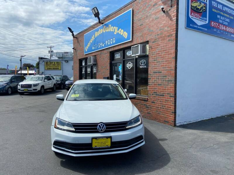 2017 Volkswagen Jetta for sale at Everett Auto Gallery in Everett MA