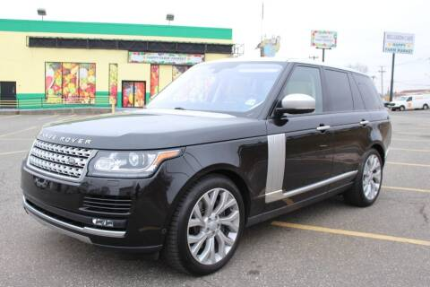 2016 Land Rover Range Rover for sale at Vantage Auto Wholesale in Lodi NJ